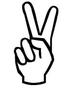 Peace-Hand-Sign-Coloring-in-Pages