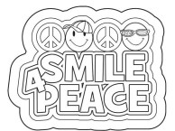 Smile-for-Peace-Coloring-Pages